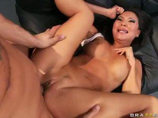 Asian Pornstar Asa Akira Gets A Double Penetration Video