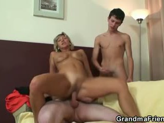 Kuumim 3kas koos küpsemad naine