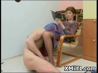 Kinky Cougar Screwed And Licked Hot