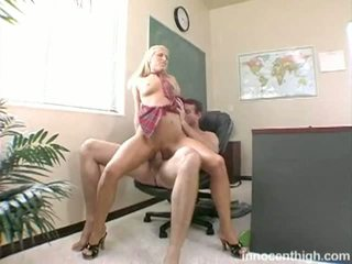 student, young, big dick