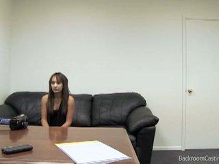 Amateur brunette's casting call