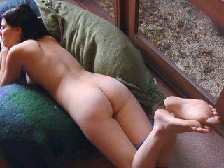 Caught masturbating on cam Video