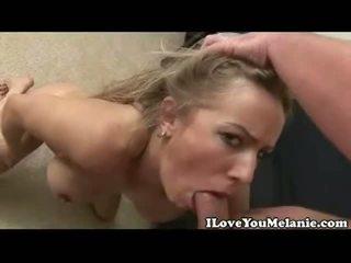 Melanie Face Screwed Hard