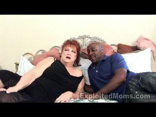 Bà receives bawdy cleft pounded qua to đen con gà trống