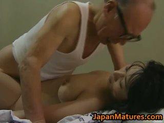 Panas warga asia babe has matang seks