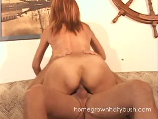 Hairy Pussy MILF Takes A Beef Injection