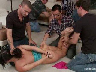 hardcore sex gepost, nominale nice ass kanaal, een dubbele penetratie seks