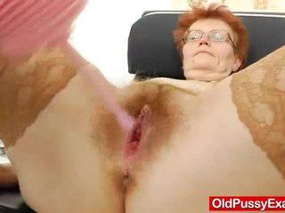oma, kwaliteit vagina mov, nieuw dokter klem