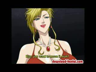 Tied naik karikatur model gets dia anus violated