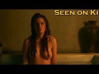 Lucy lawless 和 viva bianca 湿 和 袒胸 视频