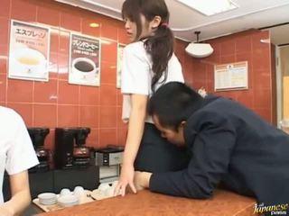 hardcore sex scène, japanse, vol pijpbeurt mov