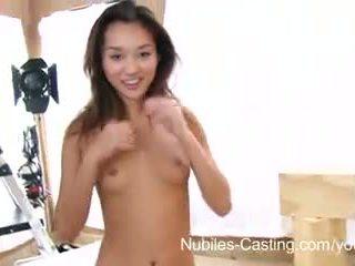 Nubiles casting - squirting asiática adolescente realmente wants este trabajo