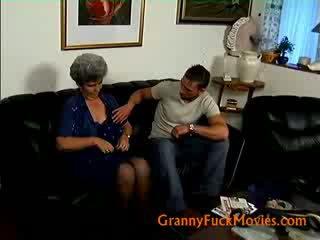 old, woman, grandma