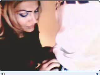 Turkish couple having sex on webcam Video