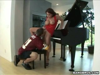 With a good piano teacher you can learn a lot