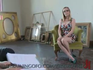 Penny Pax - Making a Slave Work Hard
