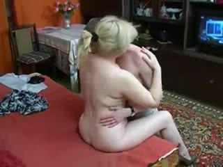 Mature Mom seduces not her son