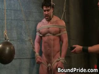 hq gay, more gagged full, real bound more