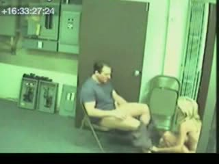 Security Cam Caught Girl Want Promotion Video