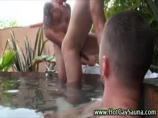 Nasty gays get hot anal fucking