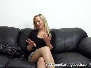 cum channel, audition tube, first time