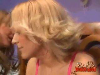 blondinke, interracial, ffm kakovost