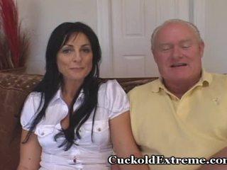 most brunette mov, cuckold scene, ideal older porn