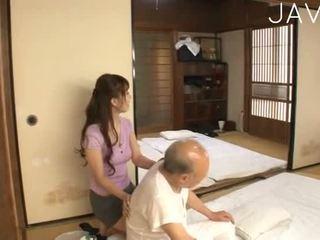 hauska japanilainen, tyttö kaikki, ihanteellinen cumshot