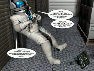 3D Comic Spermaliens 1