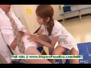 Kaede Matsushima Amateur Asian Girl In The Locker Room Gets