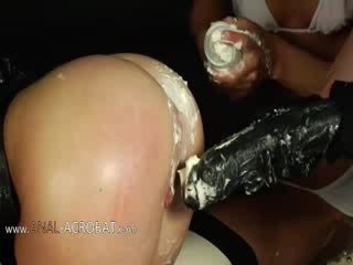 Extremely kasar bottom games with cream