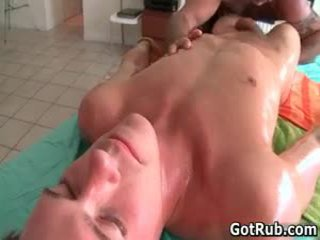 Sexy Lad Acquires Oiled Up And Prepped For Gay Massage 3 By Gotrub