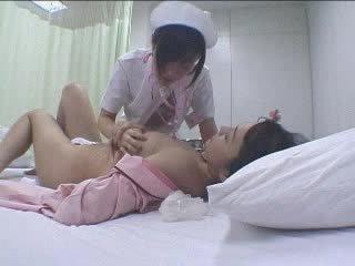 anumang lesbian, hospital malaki, real asian magaling