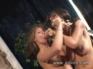 Tory Lane Has Two Amazing Babes Roxxxy Rush And Sindee Coxx That Love Using Dildos And Tongues