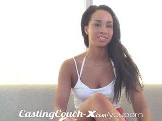 Casting couch-x atletisk bondegård jente loves sex til kontanter