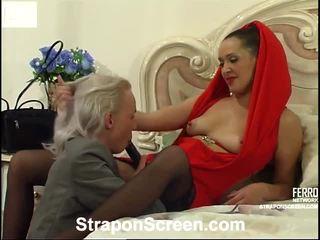 Helena in randolph mindblowing strapon film