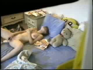 masturberen scène, vol gevangen film