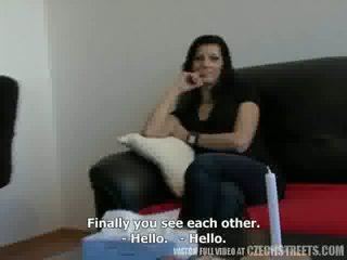 Tchèque streets - homme traded son femme katka pour argent vidéo