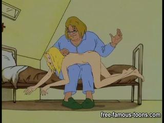 Innocent lányok seduced és spanked
