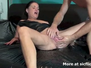 brunette, squirting, pee