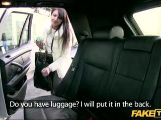 Lonely barátnő gets szar -ban taxi