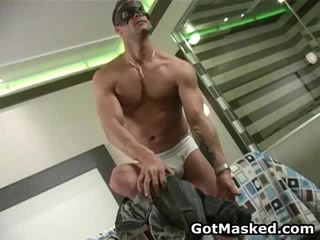 Super Worthy Looking Homosexual Hunk Masturbating