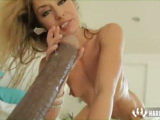 Anal Masturbation With Giant Dildo Sheena Shaw
