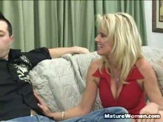 echt milf sex scène, kwaliteit volwassen video-, echt aged lady