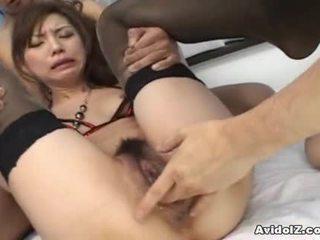 hardcore sex, japanese, blowjob, threesome