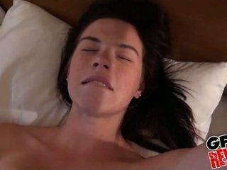 mooi brunette film, coed porno, heetste college meisje