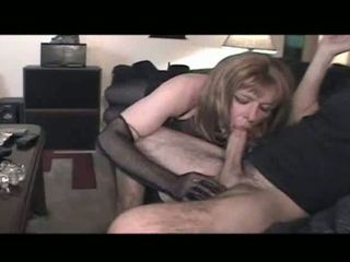 oral sex, crossdresser, lingerie