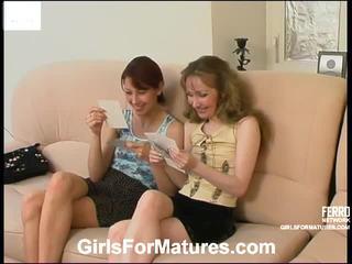 Leila a jennifer príťažlivé lesbičky