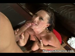 Matured Margo SullIvan Can't Live Without The Warm Reward Of Cum On Her FAce After A Hot Fuck