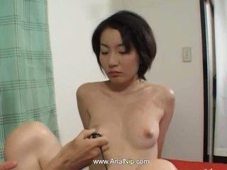 Dalam anal seks dengan berbulu korea babe